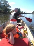 Frankreich - Kanuwandern für Familien an der Loire