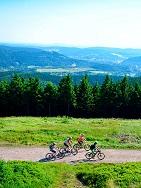 Deutschland - Thüringer Wald   Radfahren am Rennsteig