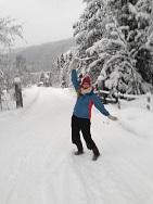 Norwegen - Femund - Skilanglauf