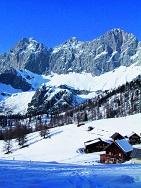 Österreich - Dachstein - Skilanglauf auf dem Sonnenplateau